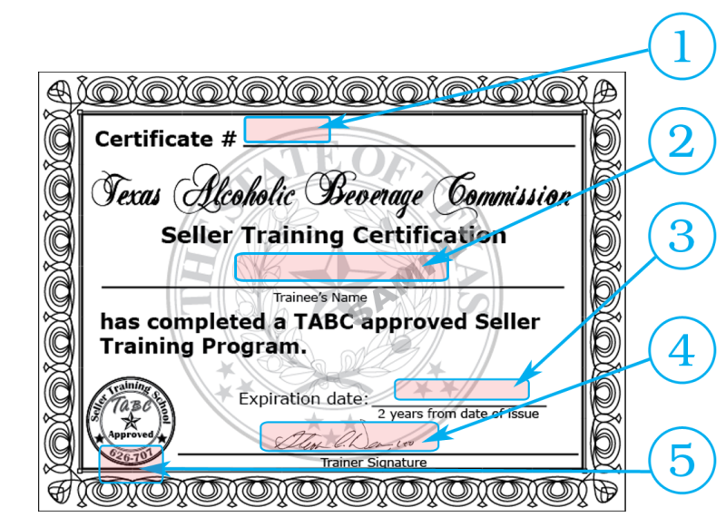 texas tabc seller-server alcohol safety training courses